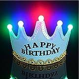 Cappelli per principessa e principessa Festa di compleanno - Copricapo Corona - Accessori per feste per bambini