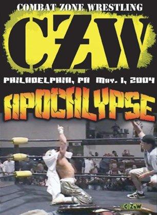 CZW- Combat Zone Wrestling- Apocalypse Double DVD-R Set