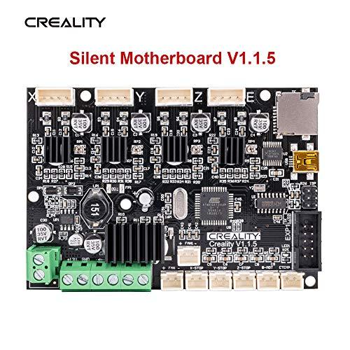 Sovol Creality V1.1.5 Placas base silenciosa Driver TMC2208 Controladores de impresora 3D para Ender 3/Ender 3 Pro/Ender 5