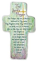 Cathedral Art SIM154 Lords Prayer Art Metal Cross, 6-Inch