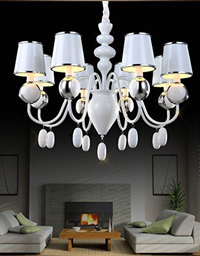 ZHGI Swan lampadario di cristallo , 8