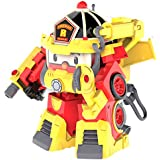 Véhicule Transformable Roy Action Pack   Super Fireman   Rouge