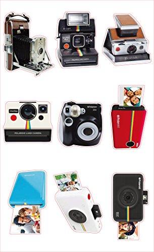 Polaroid pegatinas de cámara Polaroid para fotos en papel de foto 2x3 (Snap, Zip, Z2300) - Pack de 3
