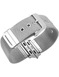 Ruban Bracelet pour l acier Inoxydable Montre Pomme 42mm Remplacement de  Courroie de iWatch 37c019449a0