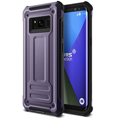 Galaxy S8 Plus Hülle, VRS Design® Schutzhülle [Orchid Grey] Heavy Duty Schlagfesten Stoßstangen TPU Bumper Case Kratzfeste Robust Handyhülle [Terra Guard] für Samsung Galaxy S8 Plus 2017