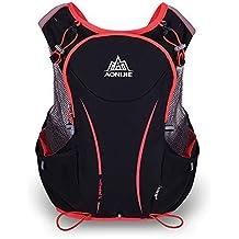 AONIJIE 5L Impermeable Nylon Running Mochila Maratón Ciclismo Bolsas corriendo chaleco Kettle Sport Bag (L/XL)