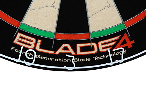 Winmau Steeldartboard Blade IV, beige/schwarz, 3006 - 6