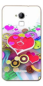 FROST IMAGES High Quality Silicon Printed Designer Back Cover for Coolpad Dazen Note 3