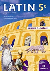 Latin 5e Langue & culture