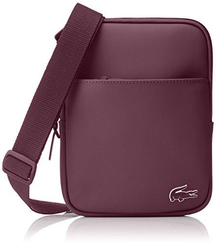 Lacoste NH2346PO homme L1212 Concept Sacs portes main Rouge (Grape Wine)