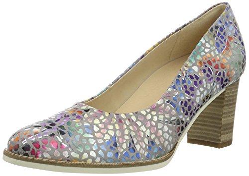 Gabor Shoes Damen Comfort Pumps, Mehrfarbig (Stone 24), 38.5 EU