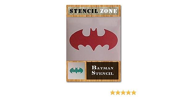Taille A1 Pochoir - Xlarge Batman Badge volant signe Joker Mylar Airbrush Peinture murale Art Artisanat Stencil 2