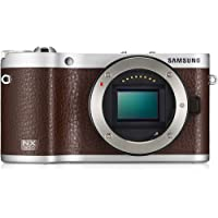 Samsung Smart NX300 Compact System Camera with 20-50mm Lens - Brown (20.3MP, CMOS Sensor) 3.3 inch AMOLED Screen