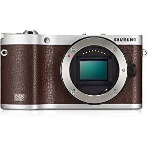 NX300 Camera Brown 20-50mm Lens Kit 20.3MP WiFi 3.31OLED FHD