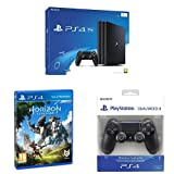 PlayStation 4 Pro (PS4) - Consola de 1 TB + Horizon Zero Dawn - Edición Normal +  Sony - DualShock 4 Negro V2 (PS4)