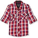 #10: Cherokee Boys' Plain Regular Fit Cotton Shirt