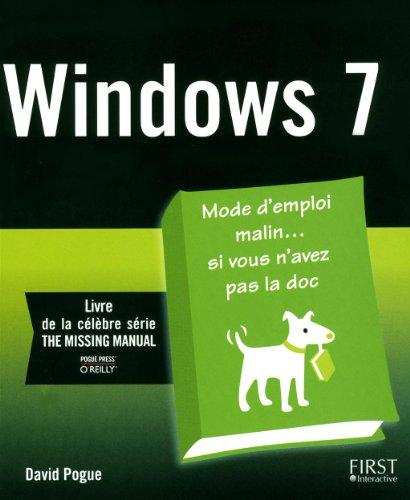 WINDOWS 7 par DAVID POGUE