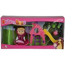 Simba 109301816 – Masha y el oso, parque de juegos