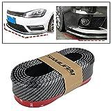 #2: SAMURAI Carbon Fiber Car Body Kit Bumper Lip Side Skirt Rubber Edge Decorative Protector, MP-23