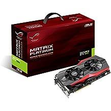 ASUS MATRIX-GTX980-P-4GD5 - Tarjeta gráfica (Intel, 1241 MHz, GeForce GTX 980, Windows 7 Ultimate x64), negro
