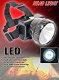 #2: PERFECT SHOPO 7 Watt Powerful Ultra Rechargeable Bright Head Light Torch Zooming Focus Lamp Home Industrial Campaign Work Led Light