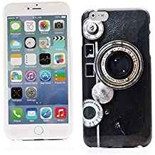"Kit Me Out ES Funda de Gel TPU para Apple iPhone 6 Plus 5.5"" pulgadas - Multicolor Cámara vintage / retro"