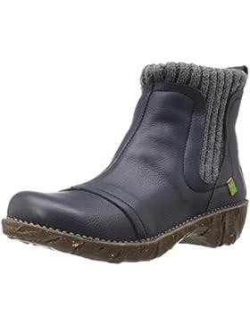 El Naturalista Damen Ne23 Soft Grain Ocean/Yggdrasil Chelsea Boots