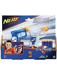 Hasbro B5817 - Nerf N-Strike Jolt 2 Pack, mehrfarbig