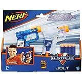 Hasbro B5817Nerf N-Strike Jolt - Pack de 2 pistolas de juguete, multicolor