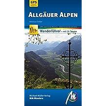Allgäuer Alpen MM-Wandern: Wanderführer mit GPS-kartierten Routen.