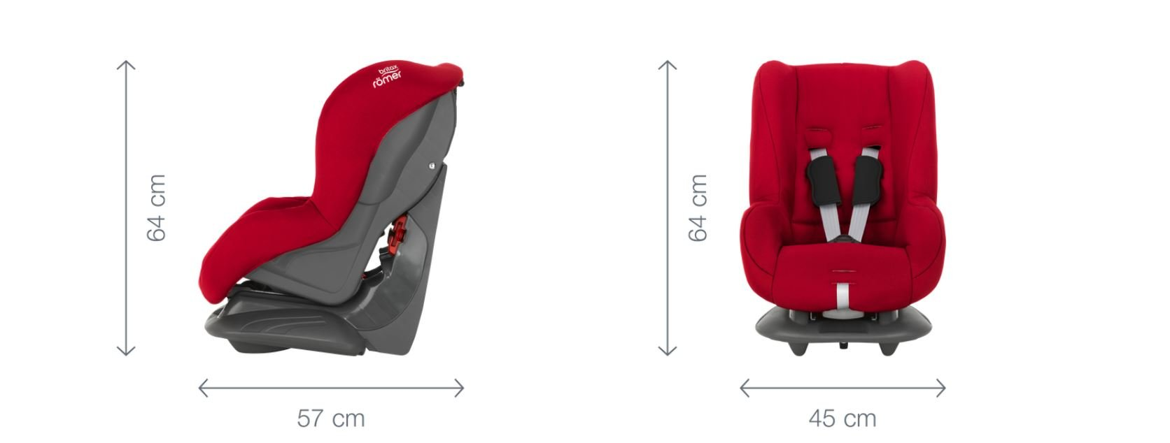 Britax Römer ECLIPSE Group 1 (9-18kg) Car Seat - Cosmos Black Britax Simple installation with a 3-point or 2-point seat belt Superior protection - side impact protection, performance chest pads and pitch control system TUV certified for aircraft travel 6