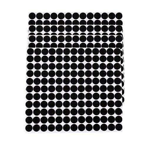 Sharplace 5 Hojas Eva Almohadillas Cogín de Goma Auto Adhesivo para Muebles de Casa Oficina