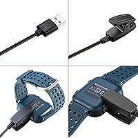 Malloom USB Clip Charger Cradle Dock para Garmin Forerunner 235 630 230 735XT Smart Watch