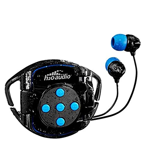 H2O Audio 100% Waterproof Headphones & Waterproof iPod Shuffle Case Swim Solution , Superior Sound and Construction includes 1 Year Warranty