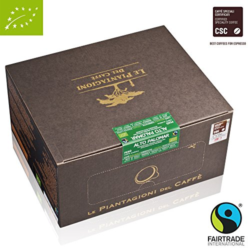 Ese Coffee Pods Alto Palomar Fairtrade and Organic 100% Arabica (50 Pods) 51jxW8ccHsL