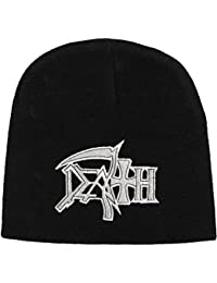 Death - Beanie Logo (in One Size)