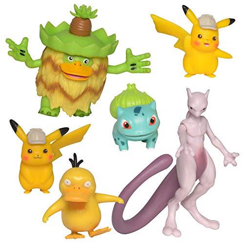 Boti Europe B.V. 35791 Pokémon Multi Pack, 6 Figuras, Cada una Aprox. Tamaño: 5 cm