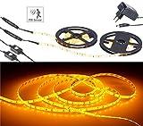 Lunartec Bettbeleuchtung: LED-Bettlicht für Doppelbett, 2 Bewegungssensoren, 2 x 1,5 m, kürzbar (LED Streifen mit Bewegungsmelder)