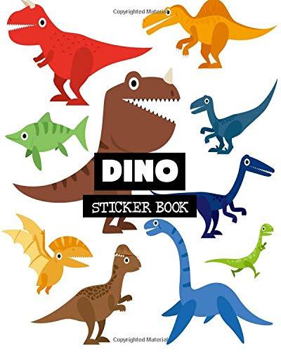 Dino: Sticker Book: Volume 7 por Ashworth Ava
