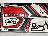 #6: LemonQ Kookaburra Cadejo Cricket Bat Sticker with Advanced Quality | Self Adhesive