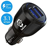 Best Usb 2.0 Car Chargers - GeekCases Dual USB Car Charger (Black) Review