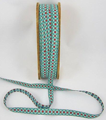 Design: Lila-Lotta Design Carlitos Wood Ruban tissé au mètre Vert