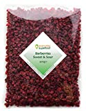 Dried Barberries 400g Natural Raw & Premium Quality Barberry, a Great Dried Cranberries Alternative