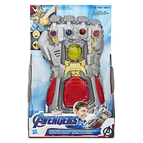 Kids Fist Marvel For Aged Lights 5 With Up Electronic AvengersEndgame And Sounds Roleplay Toy 0XnPk8wO