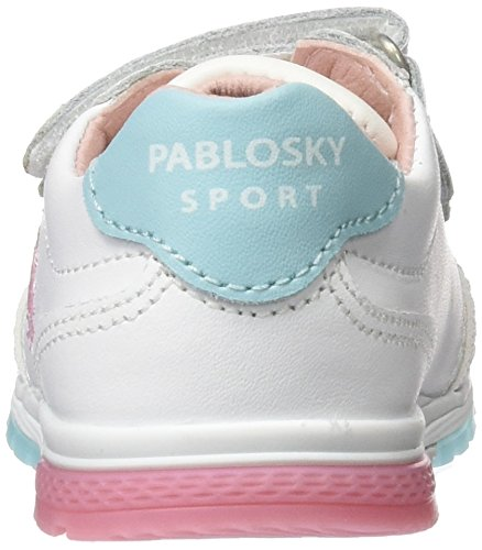 Pablosky 260114, Chaussures Fille Blanc