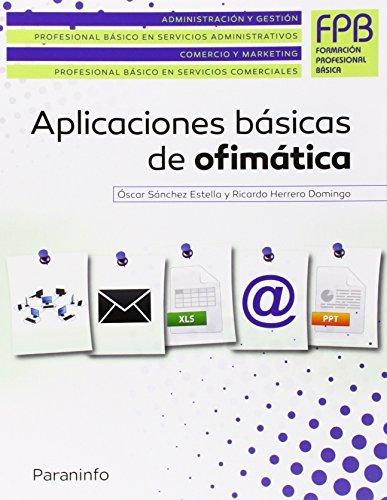 Aplicaciones básicas de ofimática por Ricardo Herrero Domingo
