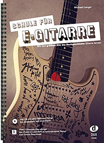 Schule für E-Gitarre: Mit den größten Hits der Rockgeschichte Gitarre
