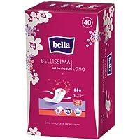 Bella Bellissima - Salvaslip lunghi con fresco profumo, pacco da 5 confezioni (5 x 40 pezzi)
