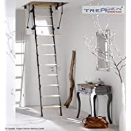 Profigold Sliding Timber Loft Ladder Mini 4Set with Accessories in 4Sizes–Up Room Height 265) 0,852
