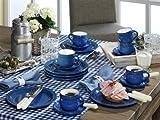 Friesland Ammerland Blue Kaffee-Set 18 tlg. Kaffeeservice